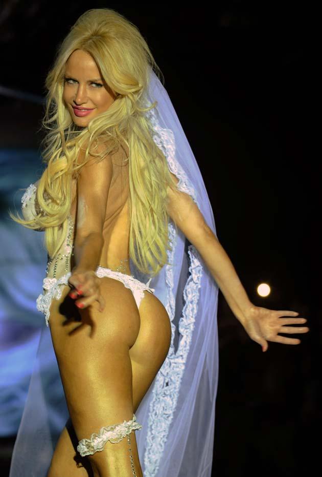 imagenes de virginia gallardo sin ropa - Virginia Gallardo En Ropa Interior Imagenes Chimentos HOY
