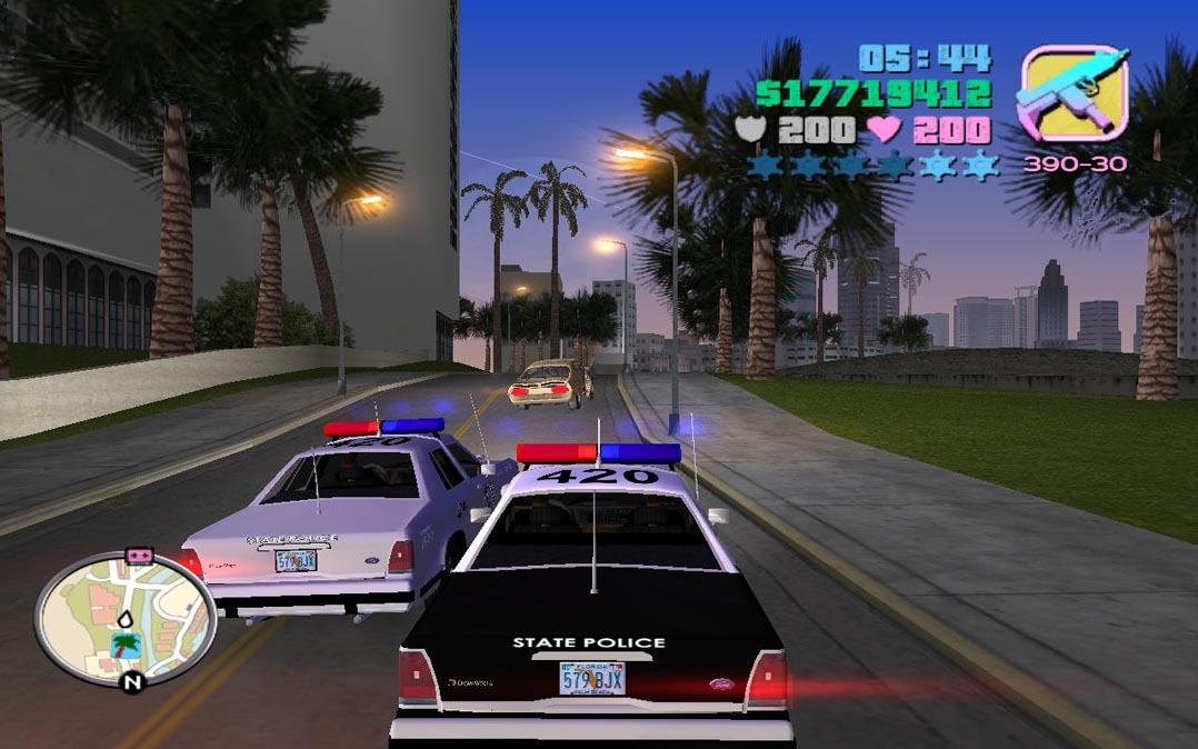 Grand Theft Auto: Vice City ~ Low Requirement Games