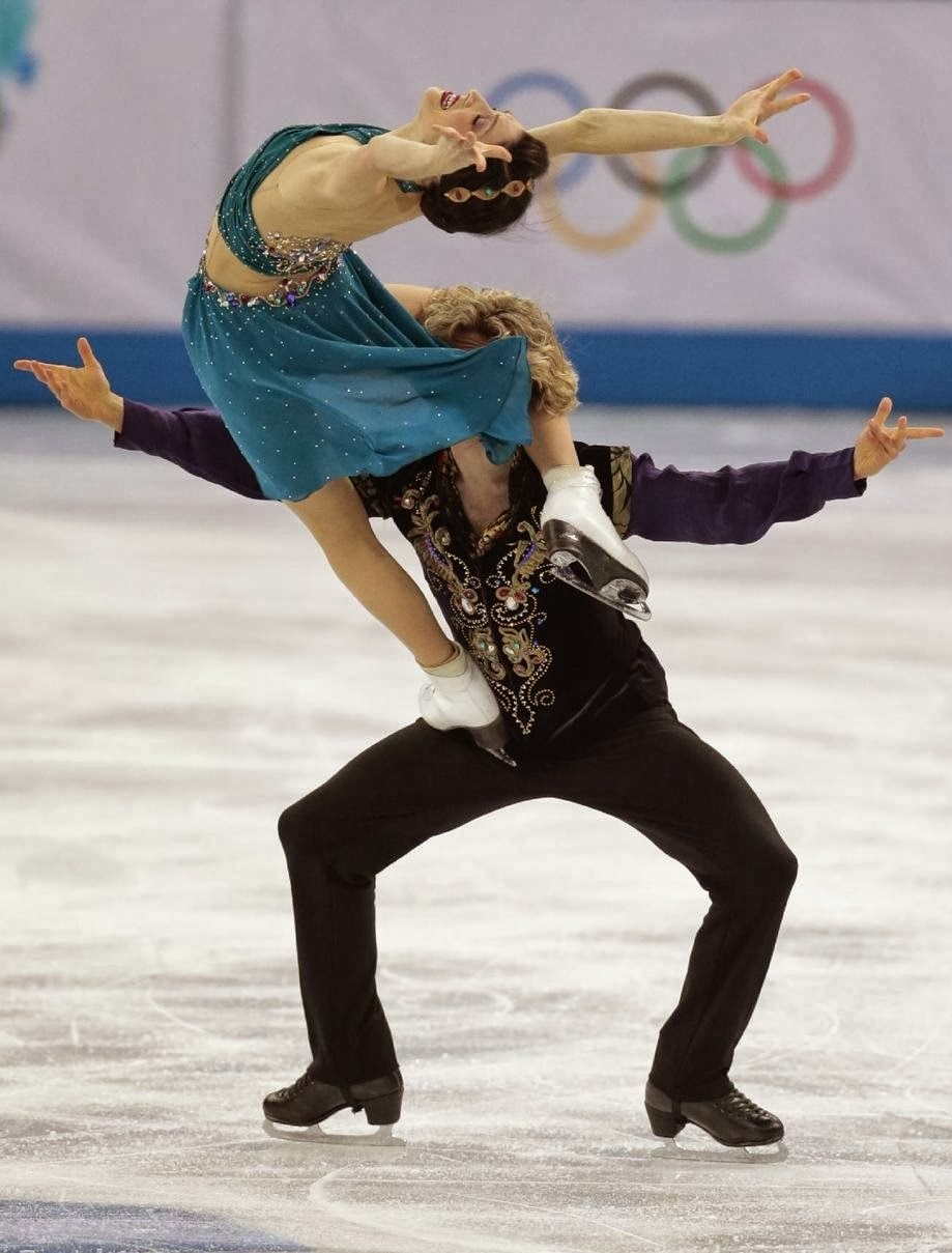 davis and white,olympics 2014,ice skating