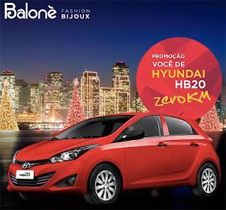 Cadastrar promoção Balone Acessórios 2015 você de Hyundai