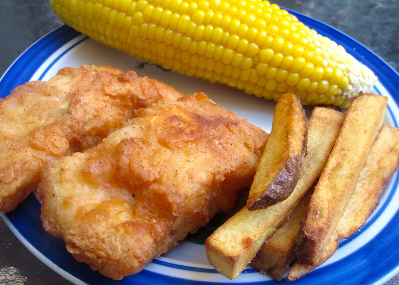 Fried fish and chips the image kid has it for Si fish and more