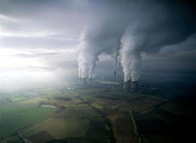 Cambio climático: contaminación atmosférica.