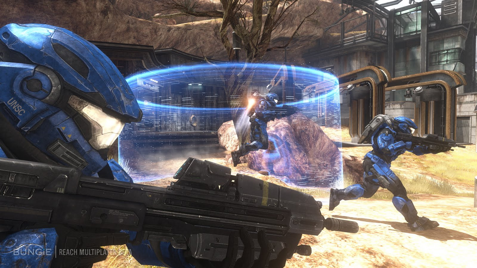 Screenshots Halo Reach Halo Reach Characters