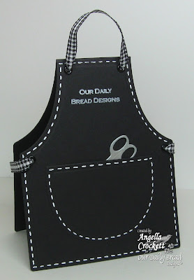 "ODBD ""Seed Packet"" and ODBD Exclusive Apron and Tools Die Set Designer Angie Crockett"
