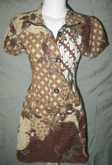 Dress Batik Terbaru 2012