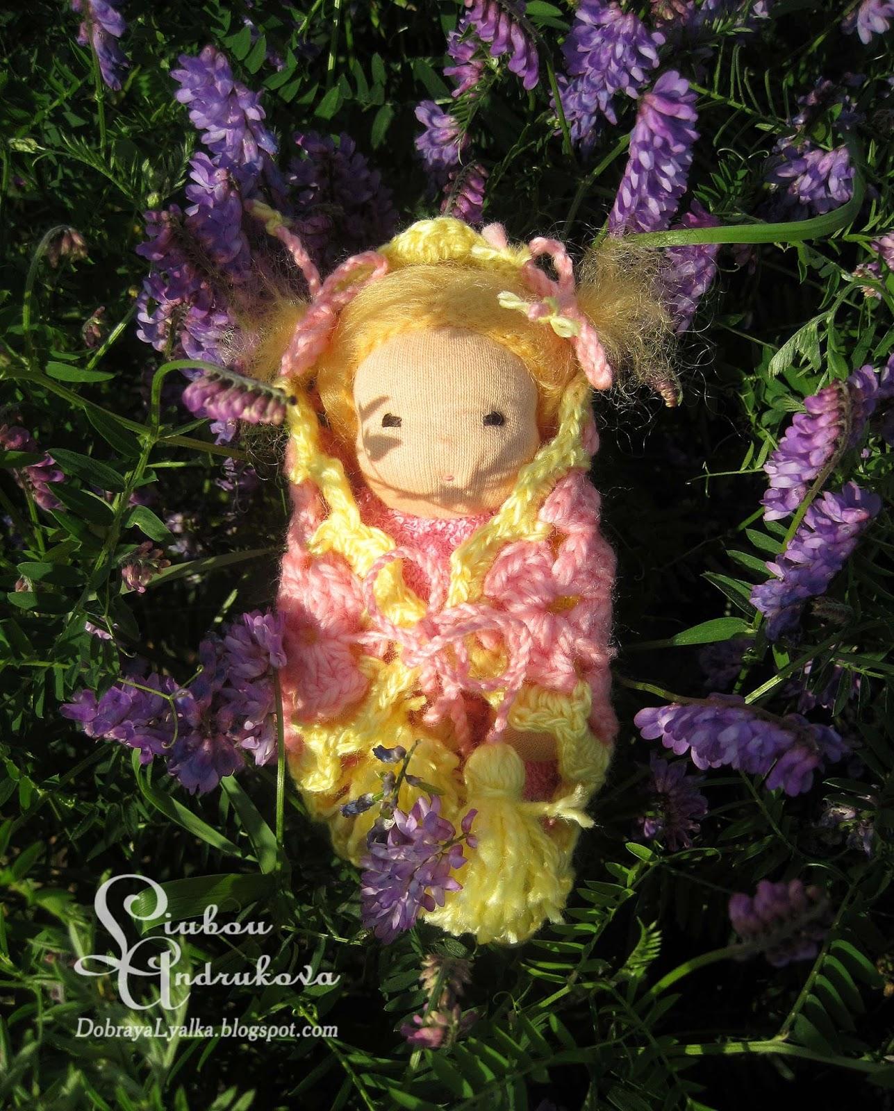 вальдорфская кукла девочке на 2 года