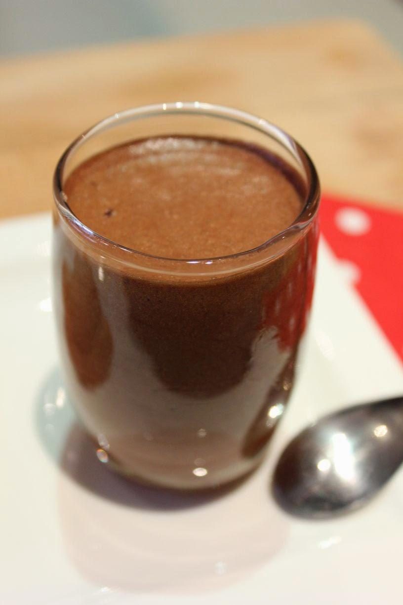 Mousse au chocolat cœur caramel beurre salé