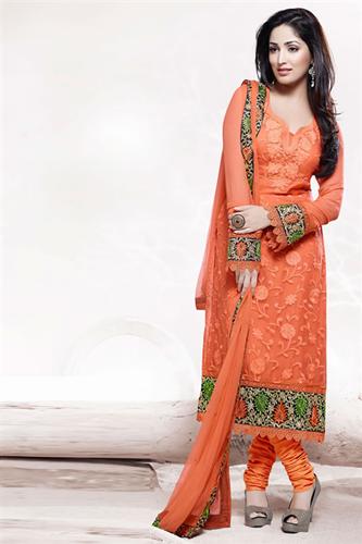Pakistani semi formal dresses 2014 2015 semi formal salwar kameez