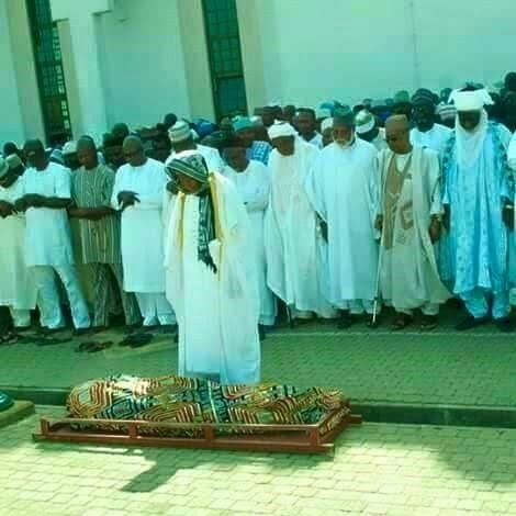 Prince Abubakar Audu burial