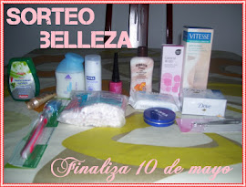 SORTEO BELLEZA!!!