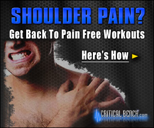 Get Back To Pain Free Workouts By Fixing Your Shoulders