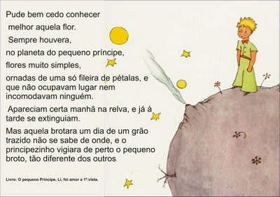 Nosso Livro De Cada Dia Frases Do Livro O Pequeno Príncipe