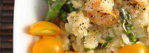 Olive Garden Shrimp and Asparagus Risotto Restaurant Recipe