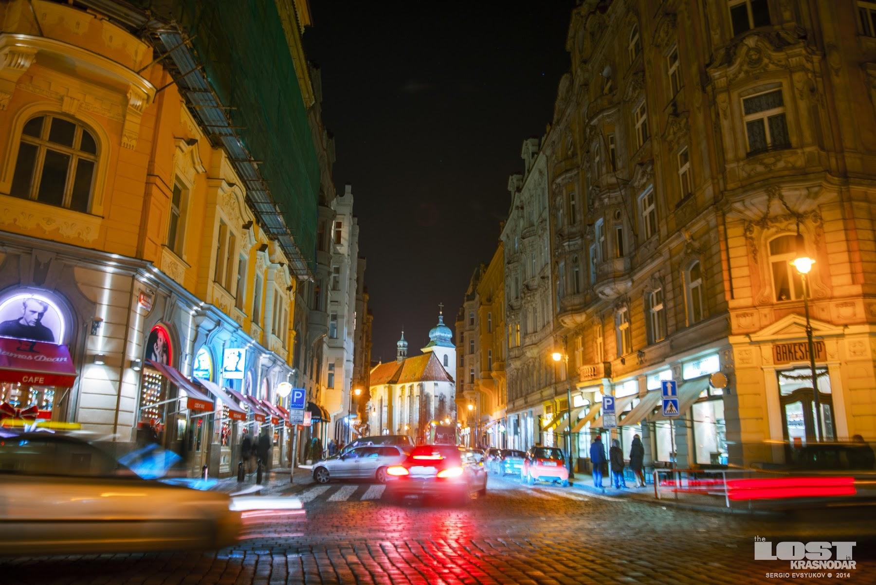 Ночь Prague