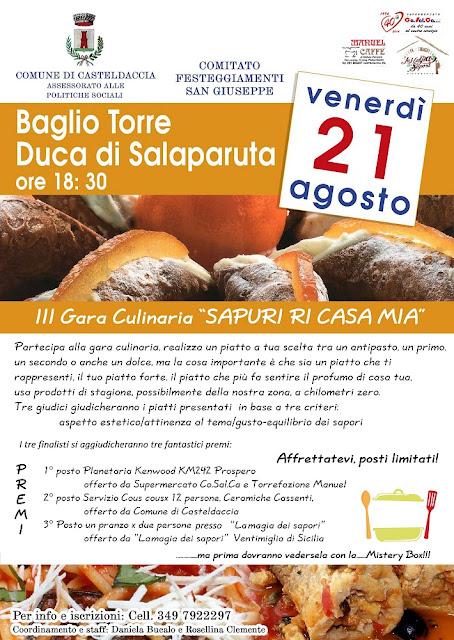 III Gara Culinaria a Casteldaccia