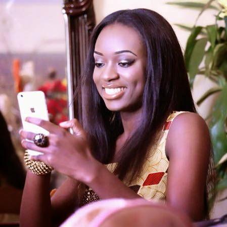 Les Marches d'Elodie - Larissa Ngangoum, Miss Cameroun 2014