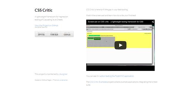 CSS Critic
