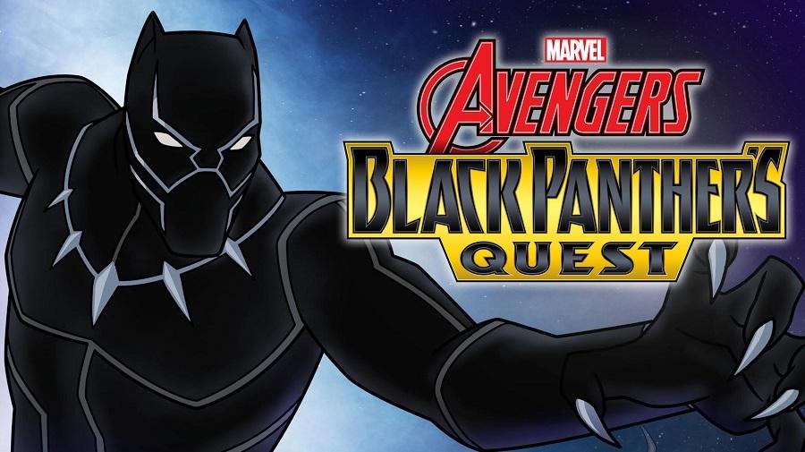 Os Vingadores - A Missão do Pantera Negra Legendado 2018 Desenho 720p HD WEB-DL completo Torrent