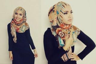24 Gaya Model Hijab / Jilbab Terbaru