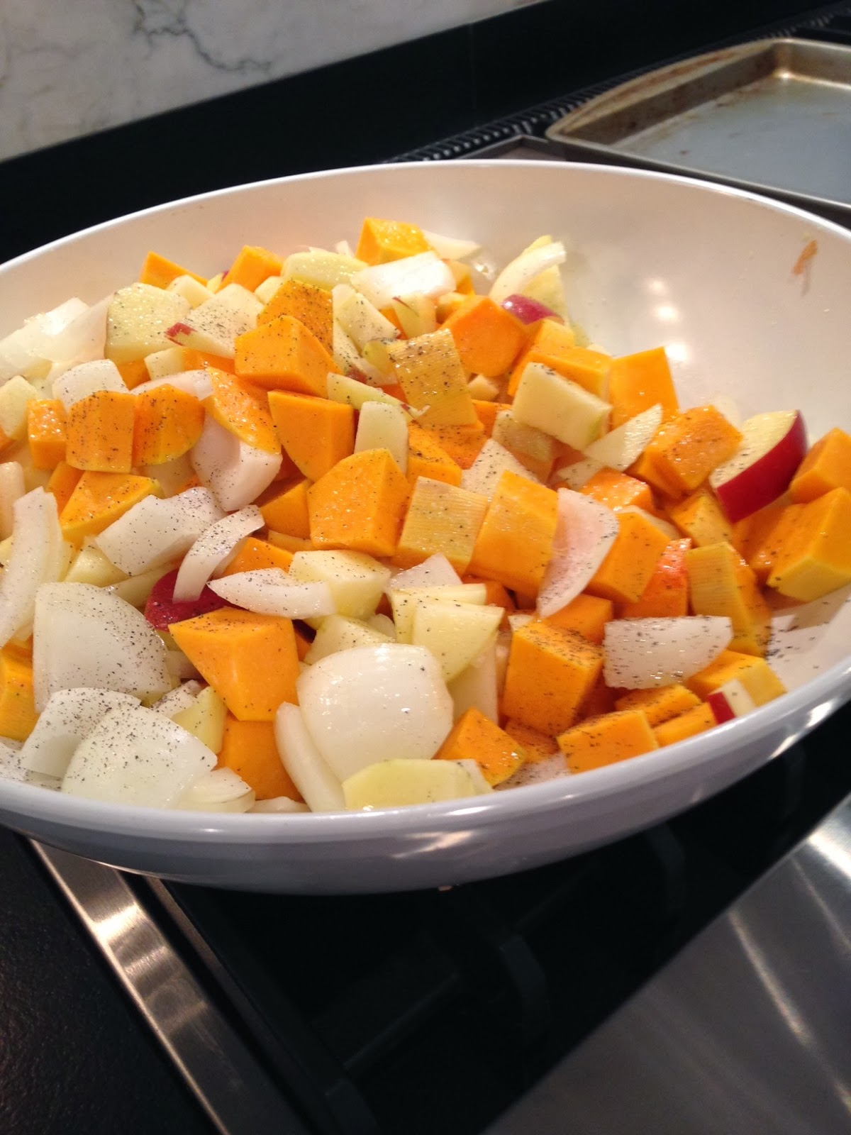 how to cook frozen butternut squash cubes