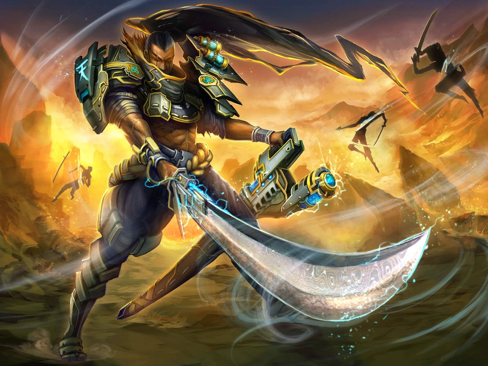 yasuo league of legends wallpaper
