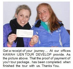 A new information from KAWAH IJEN TOUR DEVELOP.