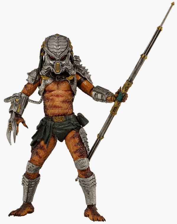 NECA - Predator Series 13 - Kenner Series - Cracked Tusk Predator figure