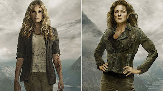 Clarke and Abby from promotional pictures