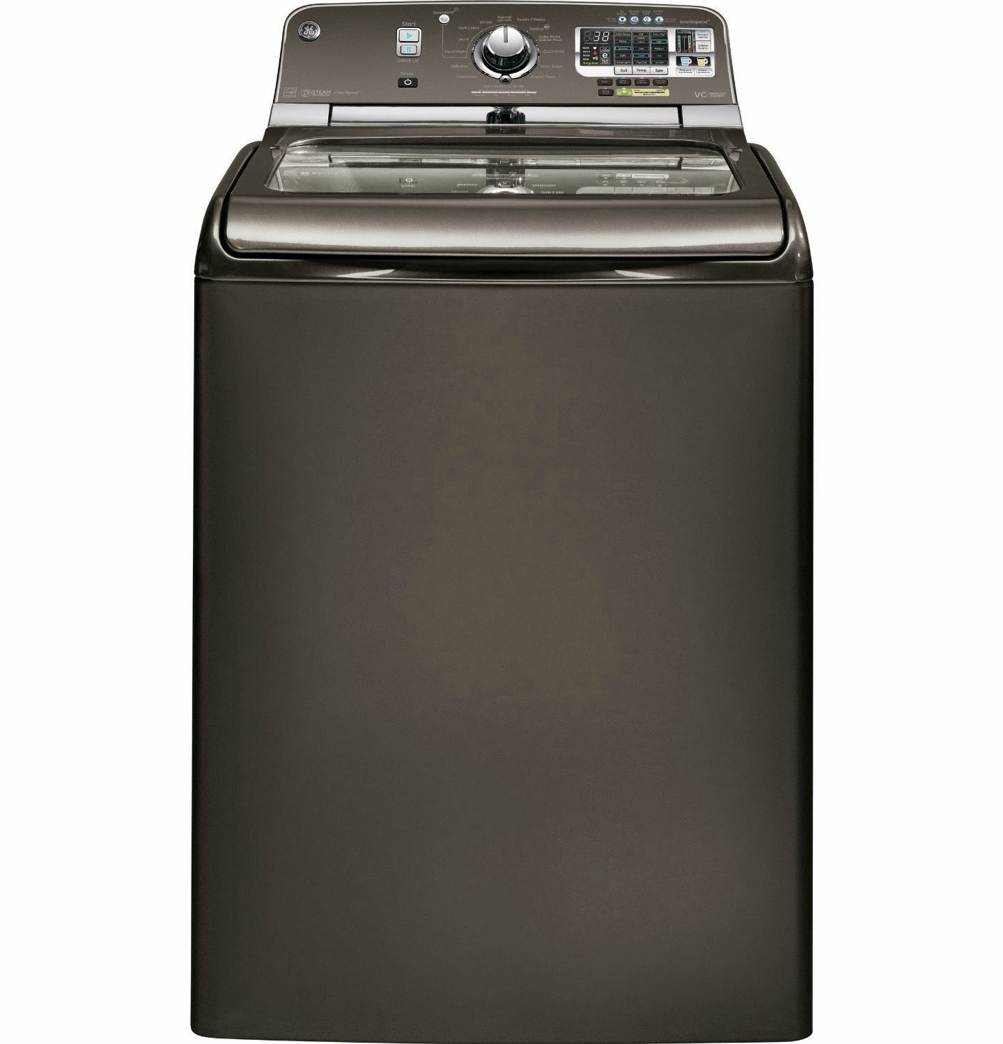 The best top load washer with agitator - Energy Star Ge 5 Cf Gray With Steam Cycle Top Load Washers