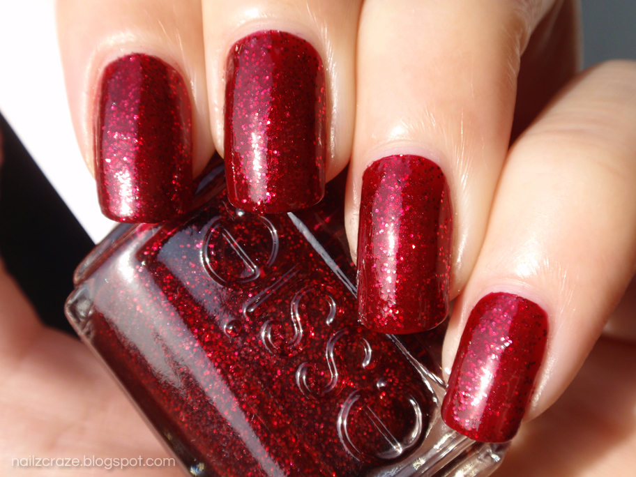 Sparkly Red Nail Polish | Best Nail Designs 2018