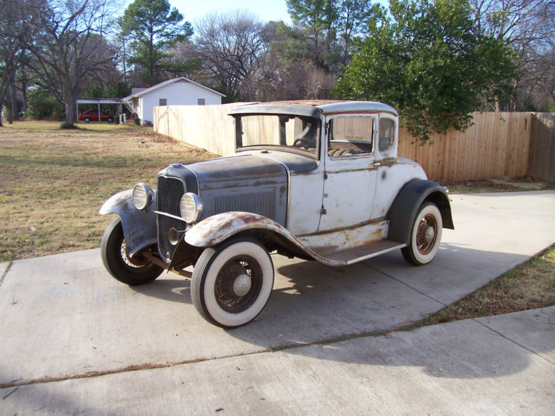 Daily Turismo: 10k: 1931 Ford Model A; Patina'd Survivor