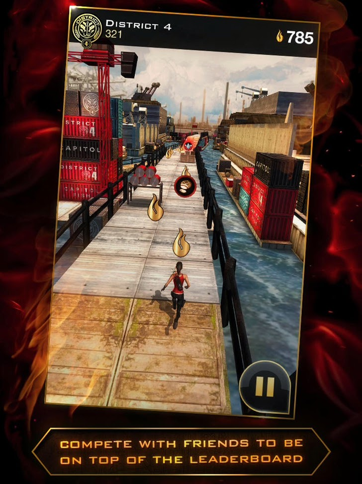 Hunger Games: Catching Fire - Panem Run App iTunes App By Reliance Big Entertainment UK Private Ltd - FreeApps.ws