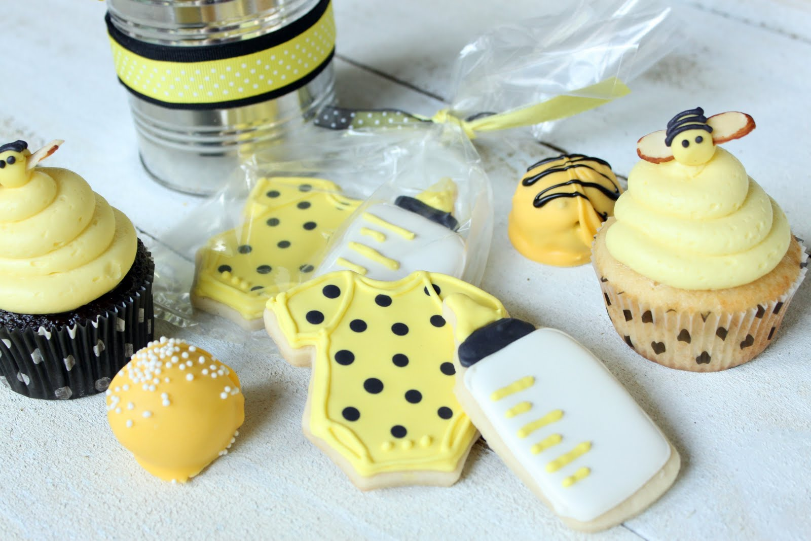 Crave. Indulge. Satisfy.: Bumble Bee Baby Shower