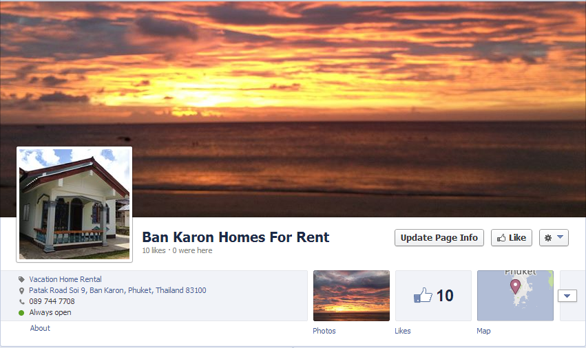 Ban Karon Homes For Rent on Facebook