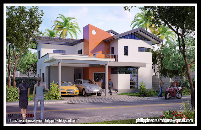 Philippine dream house design two storey house design for Small house design worth 300 000 pesos
