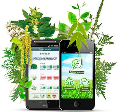 Peludna prognoza, aplikacija za iOS i Android