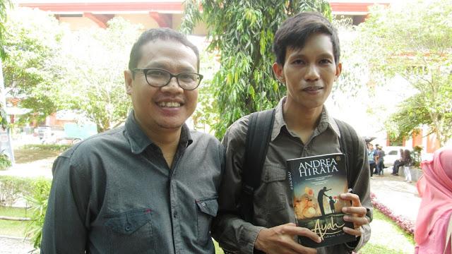 Bersama mas Imam (Editor Novel Ayah)