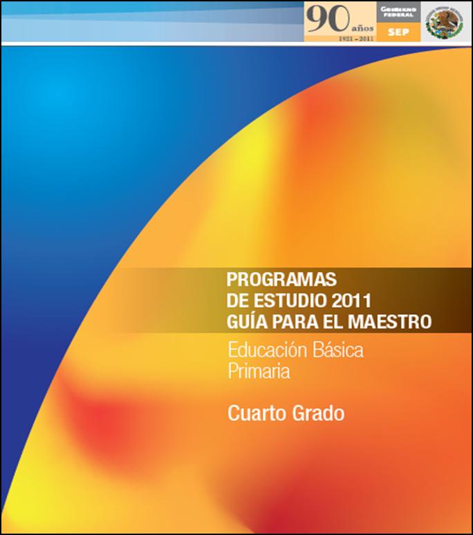 Programa de Estudios 2011 para Cuarto Grado