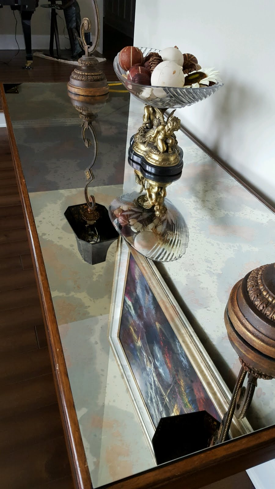 Polish Off Your table  With Our Antique Mirror