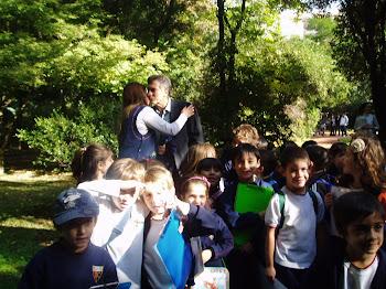 Con Macri en el botánico ! El amigo de Patricia Biele