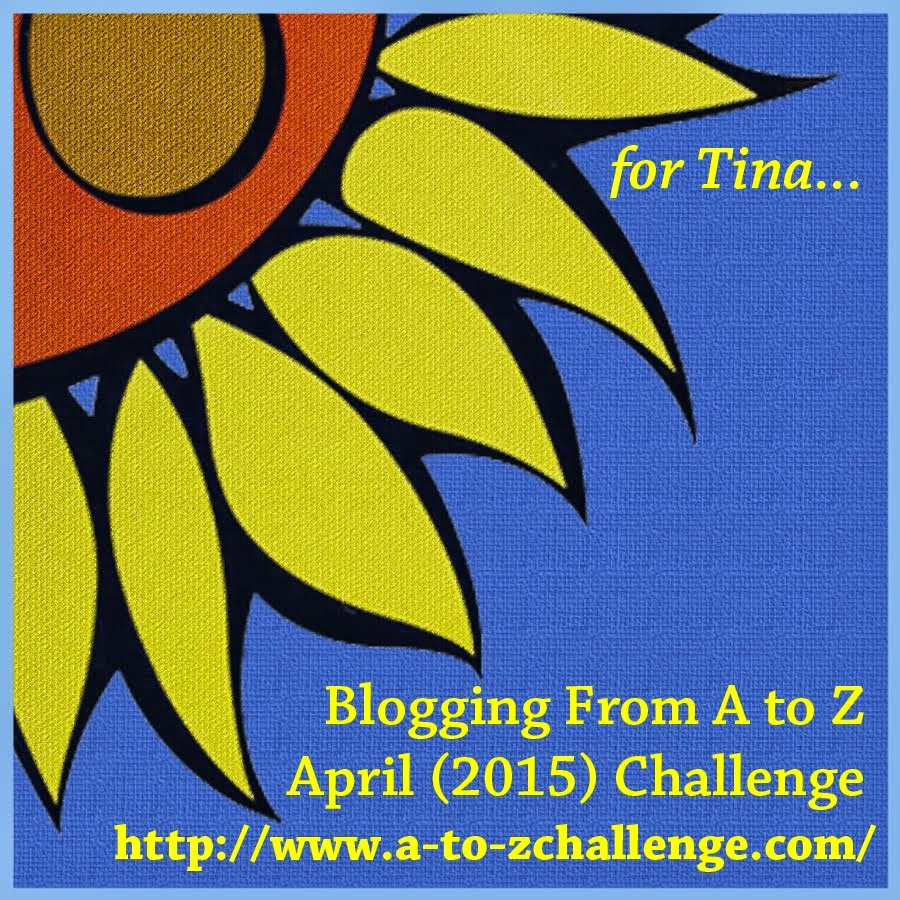 2015 Blogging From A to Z April Challenge!