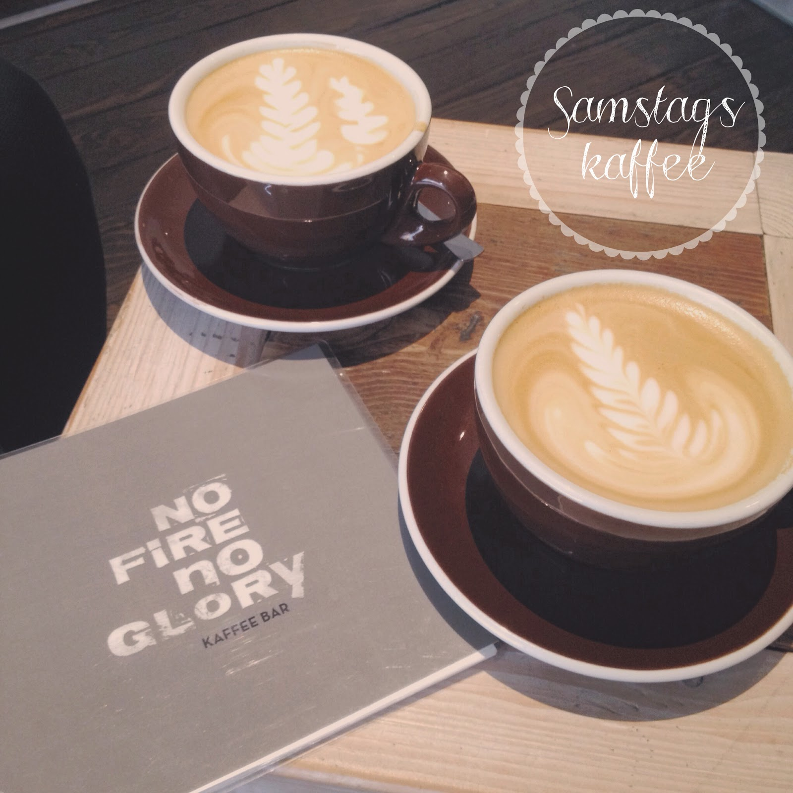 Samstagskaffee bei No Fire No Glory