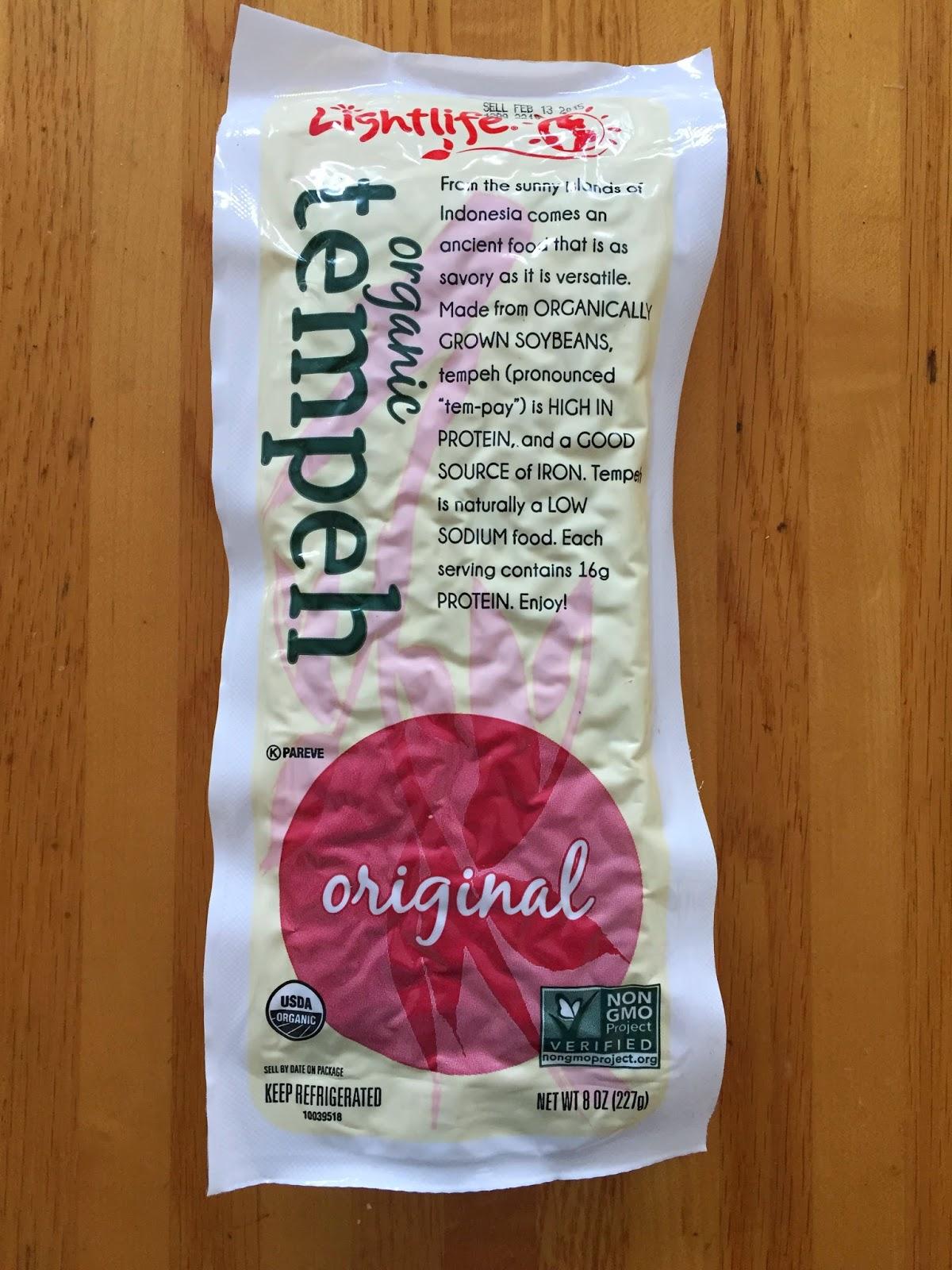 Organic Tempeh Lightlife Vegan Veega Blog
