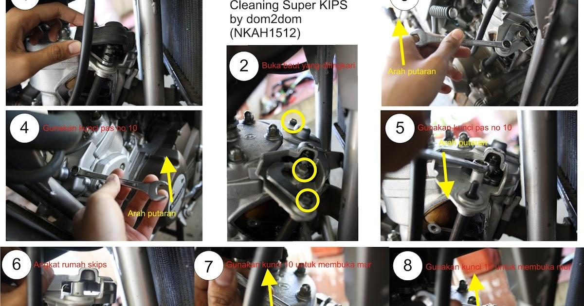 Otomotif Cara Membersihkan Super KIPS Ninja Rr R