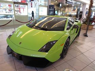 neon green lamborghini