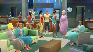The Sims 4 Spa Day Addon-RELOADED For Pc Terbaru screenshot 3