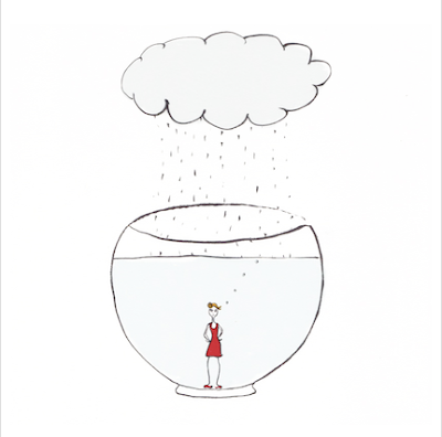 comme un poisson dans l'eau, vive la pluie