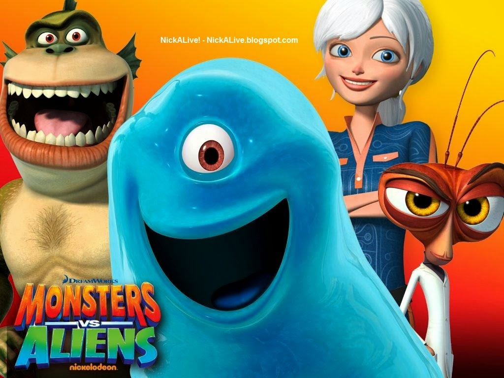 Monsters iens images Monsters vs Aliens HD wallpaper and