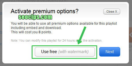 Use Free Widget Music With Watermark