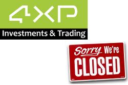 broker 4XP cierra